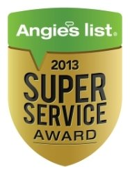 Angie's List 2013 Super Service Award